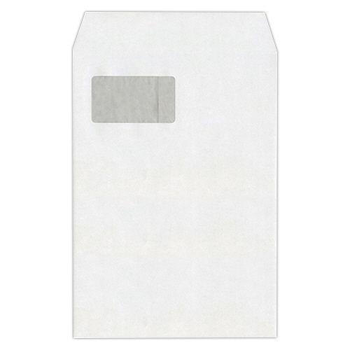 【送料無料】【法人(会社・企業)様限定】heart 透けない封筒 ケント グラシン窓 テープ付 A4 1セット(500枚:100枚×5パック)
