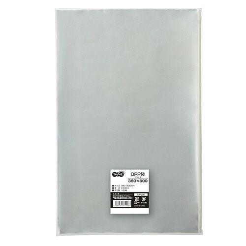 OPP袋 フラット 380×600mm 1セット(1000枚:100枚×10パック)