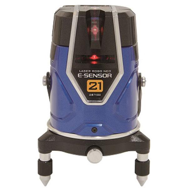 本物 【キャッシュレス5%還元】シンワ 71502 レーザーロボ Neo E Sensor 21 #71502【イージャパンモール】:イージャパンアンドカンパニーズ-DIY・工具