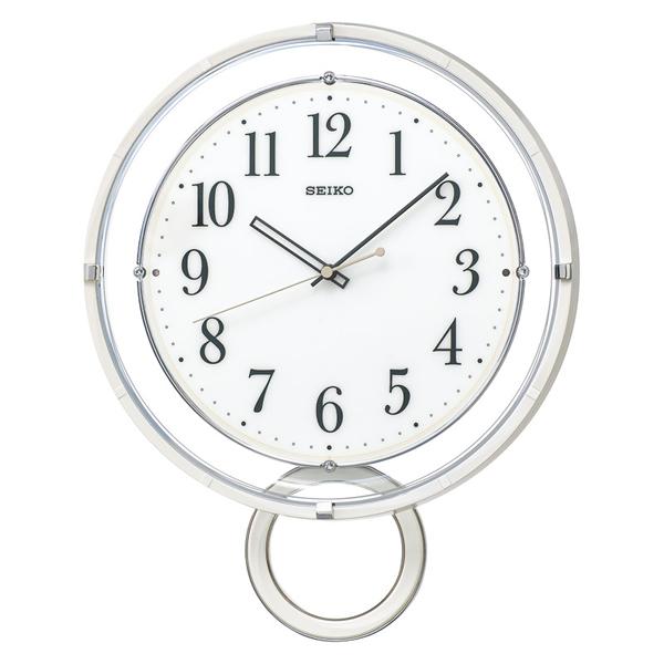 【送料無料】セイコー 電波掛時計 PH205W【代引不可】【ギフト館】