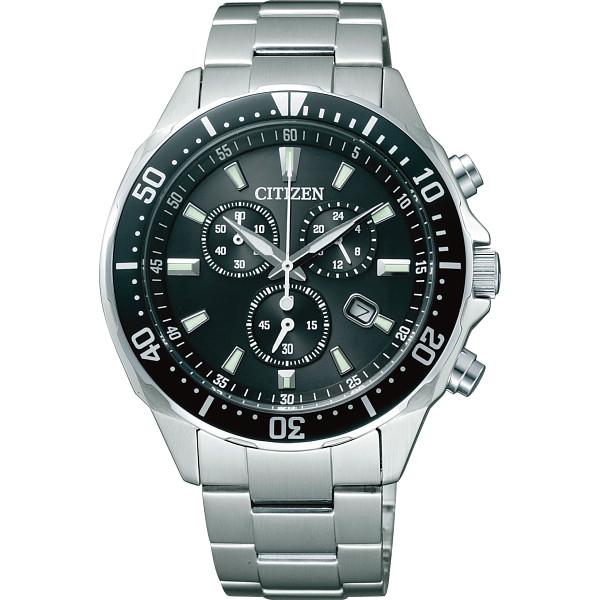 【送料無料】シチズン メンズ腕時計 ブラック VO10-6771F【代引不可】【ギフト館】