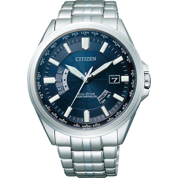 【送料無料】シチズン メンズ電波腕時計 ネイビー CB0011-69L【代引不可】【ギフト館】