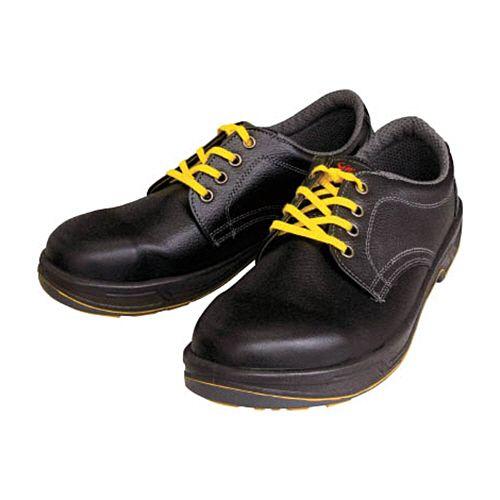 シモン 静電安全靴 短靴 SS11黒静電 27.5cm 1足