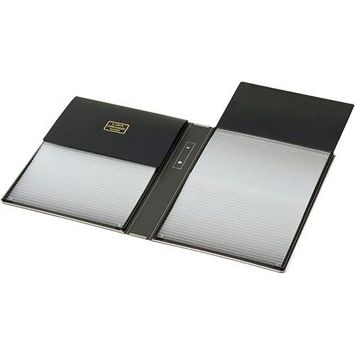 【送料無料】【法人(会社・企業)様限定】ライオン事務器 ビジブルブック(一覧式帳簿) 8×6型カード用 1冊