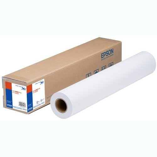 EPSON マット合成紙ロール(のり付)弱粘着 24インチロール 610mm×30.5m 1本