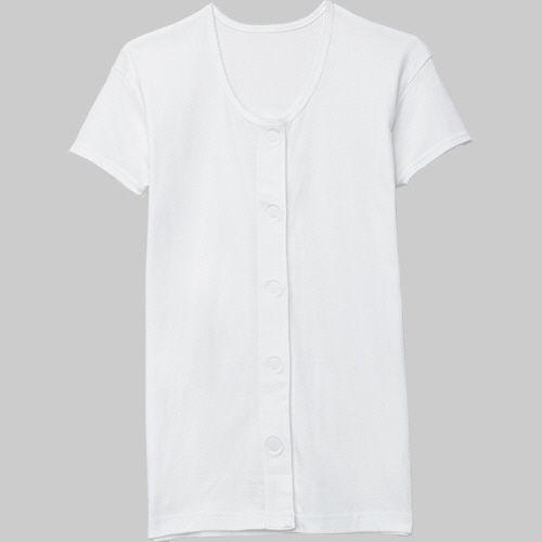爆買いセール カワモト ワンタッチ肌着 人気海外一番 半袖 1着 M 婦人