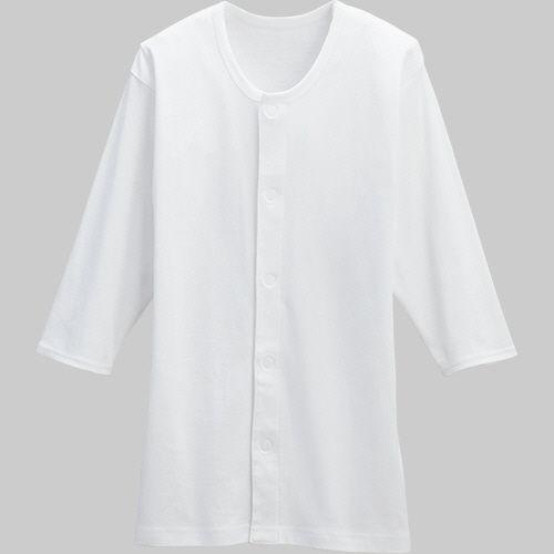 カワモト ワンタッチ肌着 セール特価 八分袖 1着 紳士 L ショッピング