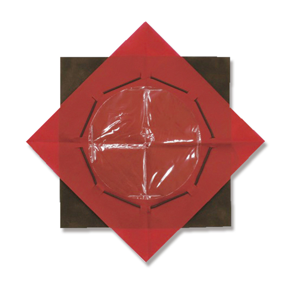 ワンタッチポット 50x50 チョコ/ラズベリー (80枚)【イージャパンモール】