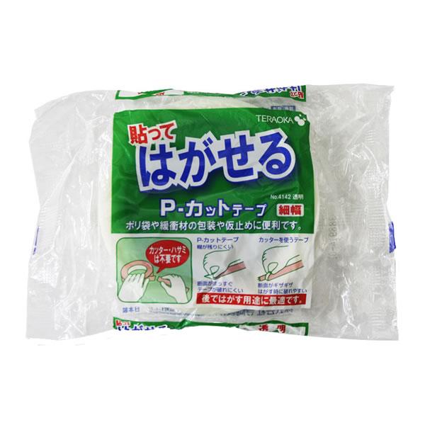 Pカットテープ No.4142 18X25 透明 (84巻)【イージャパンモール】