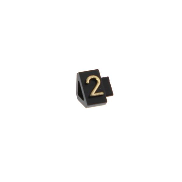 07107GD2 プライスキューブ S 金 (2) (100袋)【イージャパンモール】