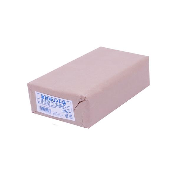 【キャッシュレス5%還元】業務用OPP袋S12-23.5(長3サイズ) (10000枚)【イージャパンモール】
