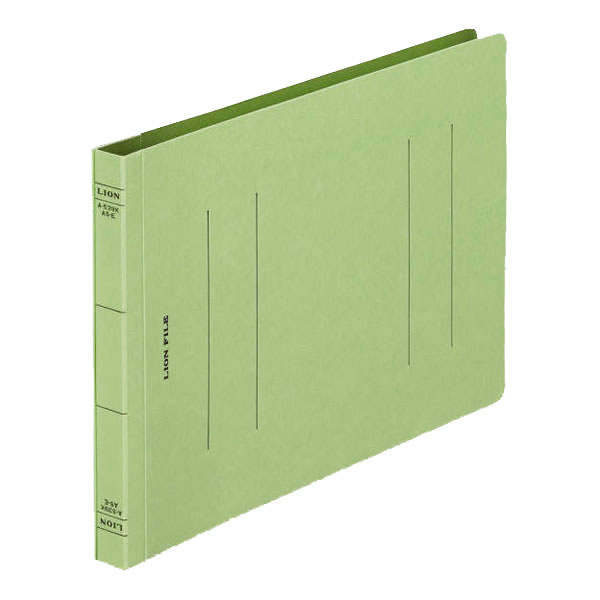 A-539K-A5E フラットファイル 緑 (200冊)【イージャパンモール】
