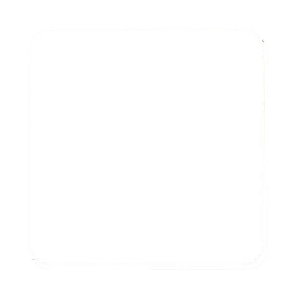 コースター白90角丸 DCP2.0 ※71 (2000枚)【イージャパンモール】