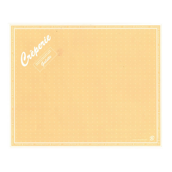 クレープ包装紙 ドリームズ オレンジ 100P (4000枚)【イージャパンモール】