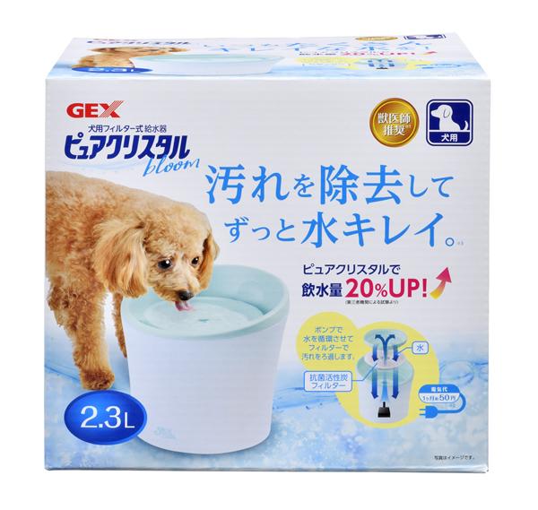★まとめ買い★ ピュアクリスタル ブルーム 2.3L 犬用・多頭飼育用 ×6個【イージャパンモール】