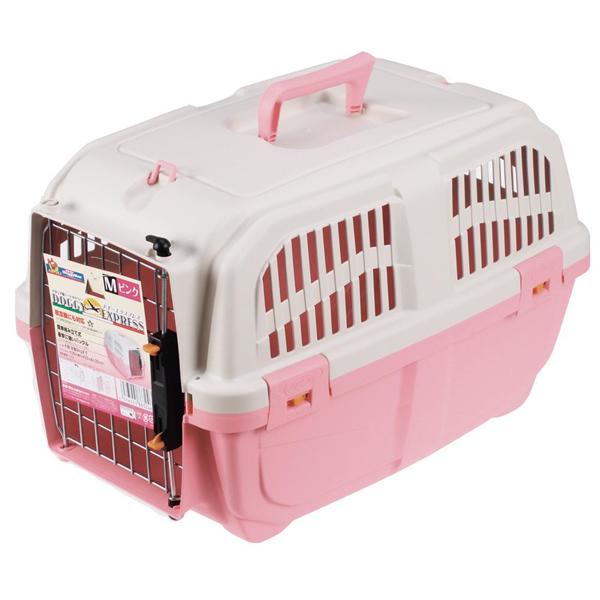 ★まとめ買い★ イタリア製ハードキャリー DOGGY EXPRESS M ピンク ×6個【イージャパンモール】