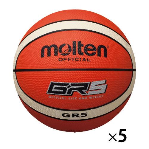 【キャッシュレス5%還元】バスケットボールゴム球5号12面体5個【返品・交換・キャンセル不可】【イージャパンモール】