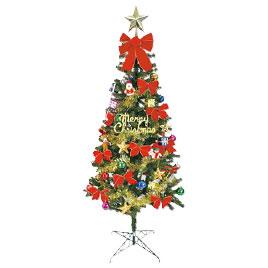 【キャッシュレス5%還元】クリスマスツリー180cm【返品・交換・キャンセル不可】【イージャパンモール】