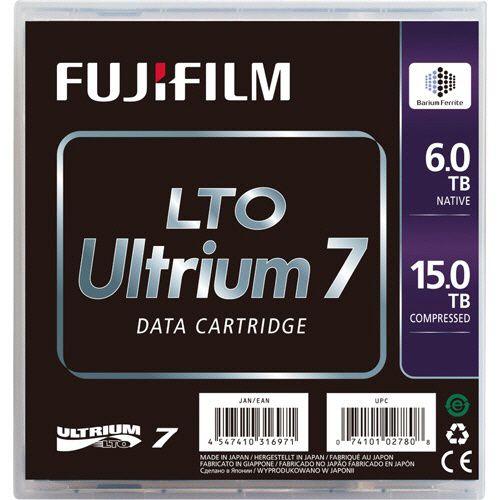 【キャッシュレス5%還元】【送料無料】【法人(会社・企業)様限定】FUJIFILM 富士フイルム LTO Ultrium7 データカートリッジ 6.0TB/15TB 1パック(5巻)