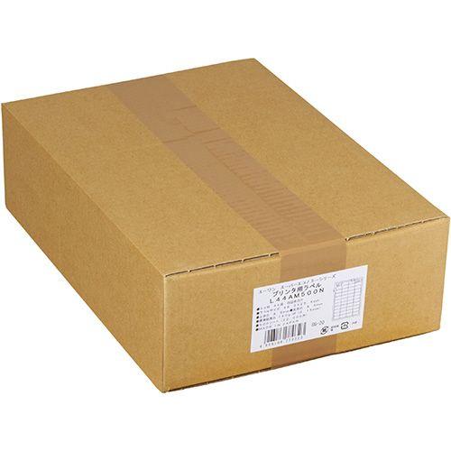【キャッシュレス5%還元】【送料無料】【法人(会社・企業)様限定】エーワン スーパーエコノミーシリーズ プリンタラベル A4 14面 86.4×38.1mm 四辺余白 1箱(500シート)