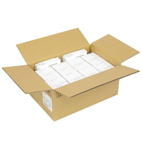 【キャッシュレス5%還元】CANON 森林認証 名刺 両面マットコート クリーム 徳用箱 1セット(8000枚:250枚×32パック)