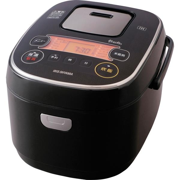 【送料無料】アイリスオーヤマ 米屋の旨み  銘柄炊き IHジャー炊飯器5.5合炊き RC-IE50-B【代引不可】【ギフト館】