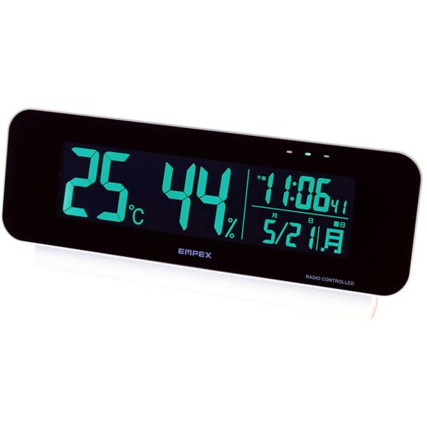 【送料無料】電波時計付デジタル温・湿度計 TD-8262【代引不可】【ギフト館】
