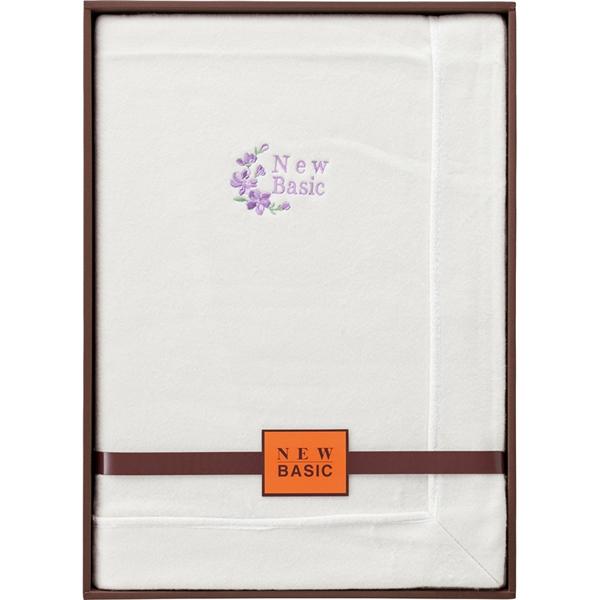 【送料無料】ニューベーシック シルク混綿毛布(毛羽部分) RNB-4103【代引不可】【ギフト館】