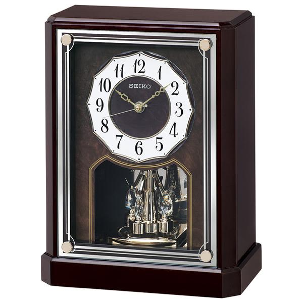 【送料無料】セイコー 電波置時計  BY243B【代引不可】【ギフト館】