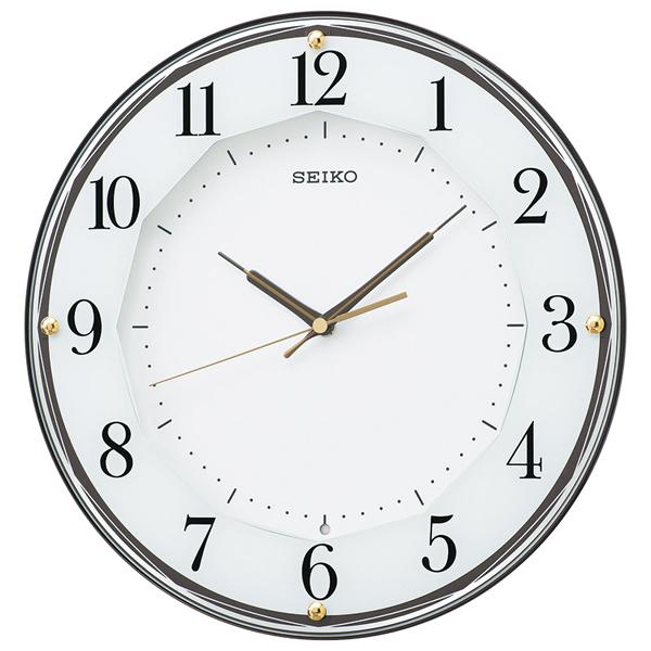 【送料無料】セイコー 電波掛時計  KX213B【代引不可】【ギフト館】