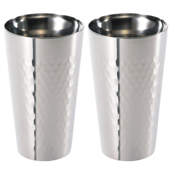 【送料無料】食楽工房 チタン2重カップ2個セット TW-2【代引不可】【ギフト館】