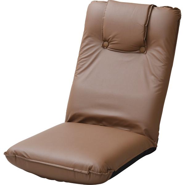 【キャッシュレス5%還元】【送料無料】低反発座椅子(ヘッドレスト付)2個組 ブラウン TT-13BR-2【代引不可】【ギフト館】