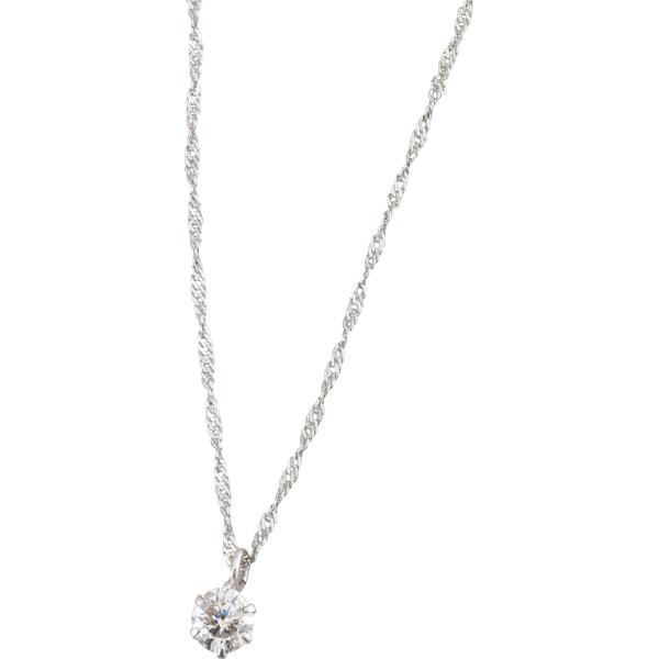 【キャッシュレス5%還元】【送料無料】プラチナ ダイヤモンドペンダント 4016【代引不可】【ギフト館】