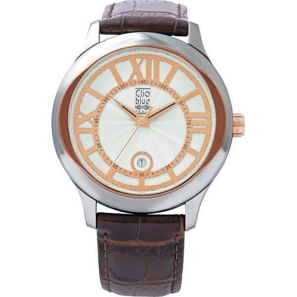 【送料無料】クリオブルー メンズ腕時計 W-CLM15220BRN【代引不可】【ギフト館】