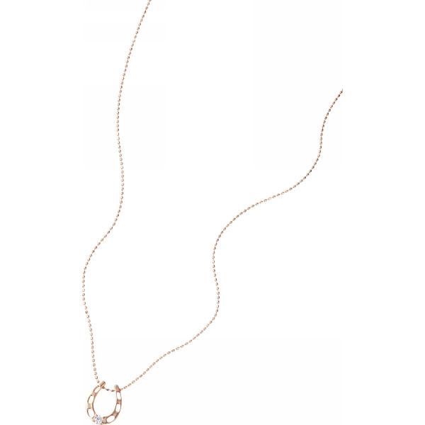 【キャッシュレス5%還元】【送料無料】ホースシュー ダイヤモンドペンダント 3324【代引不可】【ギフト館】