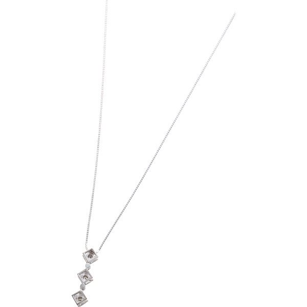送料無料 ダイヤモンドスリーストーンペンダント 3201 超美品再入荷品質至上 高額売筋 ギフト館 代引不可