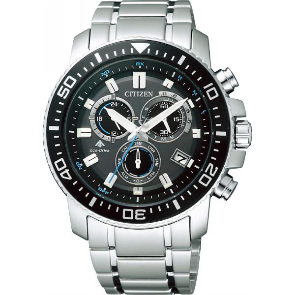 【キャッシュレス5%還元】【送料無料】シチズン プロマスター メンズ電波腕時計 ブラック/ブルー PMP56-3052【代引不可】【ギフト館】