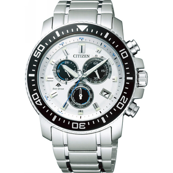 【送料無料】シチズン プロマスター メンズ電波腕時計 ホワイト PMP56-3053【代引不可】【ギフト館】