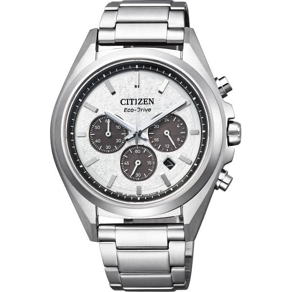 【送料無料】シチズン アテッサ ソーラー メンズ腕時計 ホワイト CA4390-55A【代引不可】【ギフト館】
