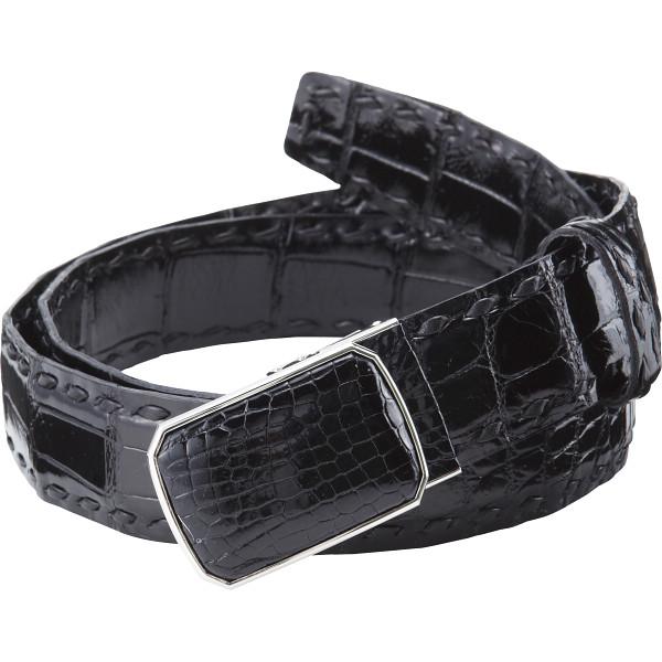 価格は安く 【送料無料】クロコダイルベルト  ブラック FBL-1000 BK【】【ギフト館】, 食べごろBIZ:b8e27dc5 --- superbirkin.com