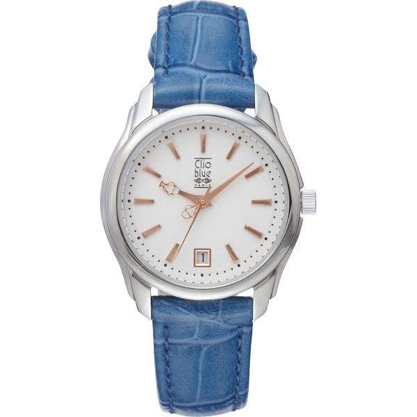 【送料無料】クリオブルー レディース腕時計 ブルー W‐CLL15236BL【代引不可】【ギフト館】