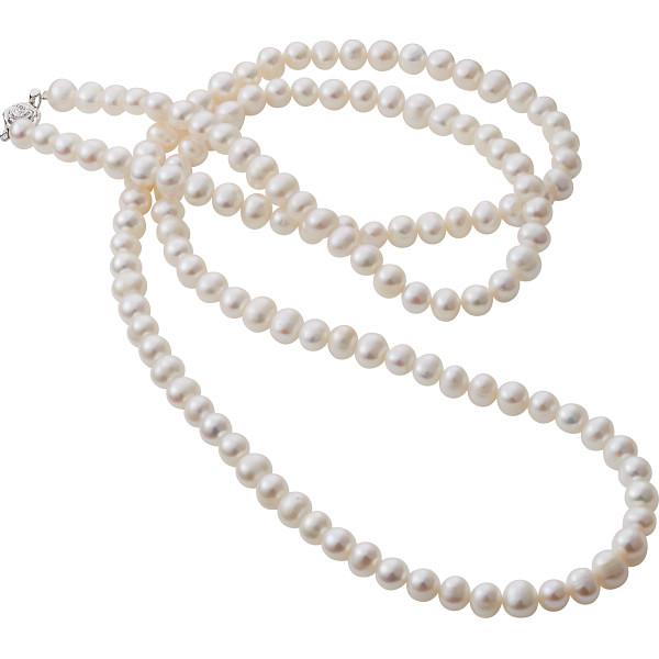 【キャッシュレス5%還元】【送料無料】淡水真珠ロングネックレス BFN‐2644【代引不可】【ギフト館】