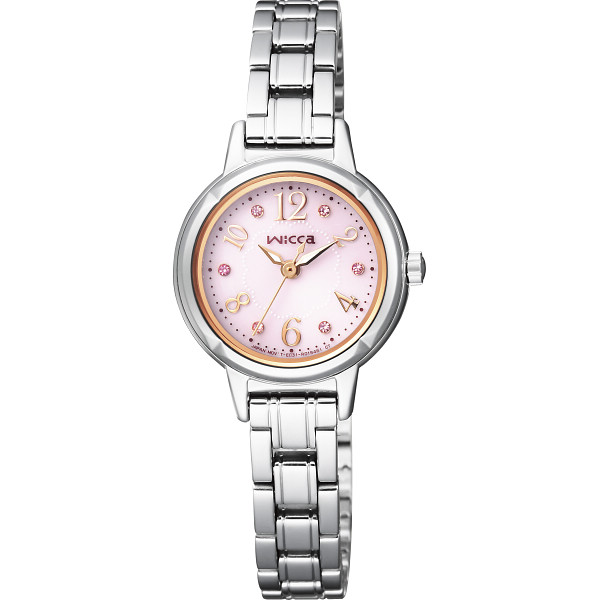 【キャッシュレス5%還元】【送料無料】シチズン ウィッカ レディース腕時計 KH9-914-93【代引不可】【ギフト館】