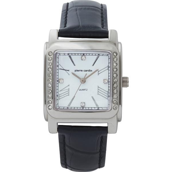 【キャッシュレス5%還元】【送料無料】ピエールカルダン レディース腕時計 W‐PCL15223BK【代引不可】【ギフト館】