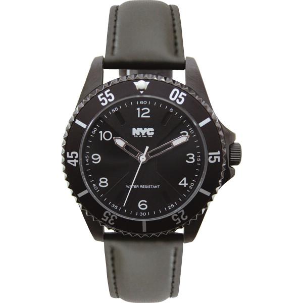 【送料無料】NYC メンズ腕時計 NYCG‐011【代引不可】【ギフト館】