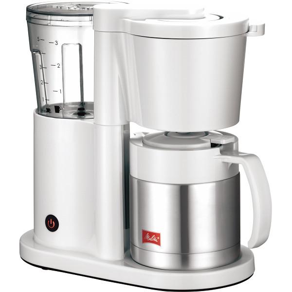 【送料無料】メリタ コーヒーメーカー オルフィ(5杯) ホワイト SKT52-3-W【代引不可】【ギフト館】