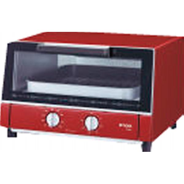 【キャッシュレス5%還元】【送料無料】タイガー オーブントースター レッド KAM-G130R【代引不可】【ギフト館】