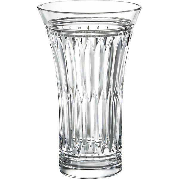 【送料無料】グラスワークスナルミ グローリー 24cm花瓶 GW3508‐60840【代引不可】【ギフト館】