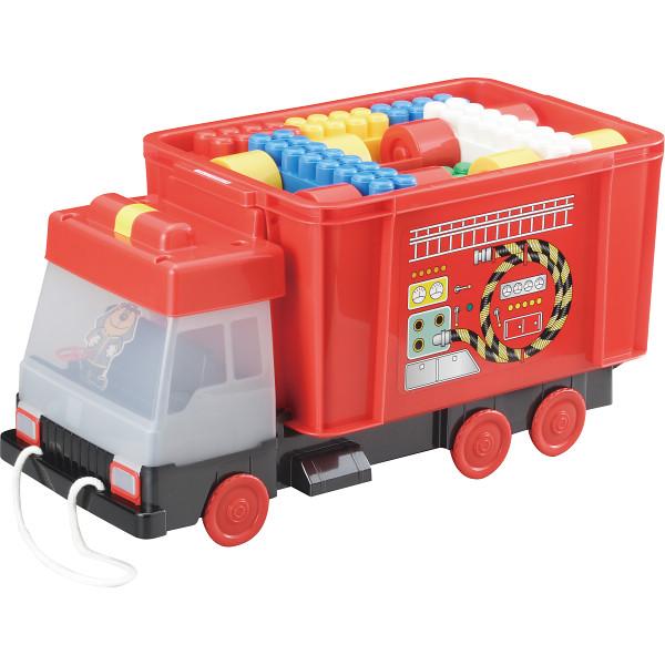 【送料無料】消防車凸凹ブロック51ピース MA-50010【代引不可】【ギフト館】