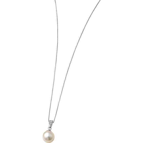 【キャッシュレス5%還元】【送料無料】本真珠ダイヤペンダント S8078【代引不可】【ギフト館】